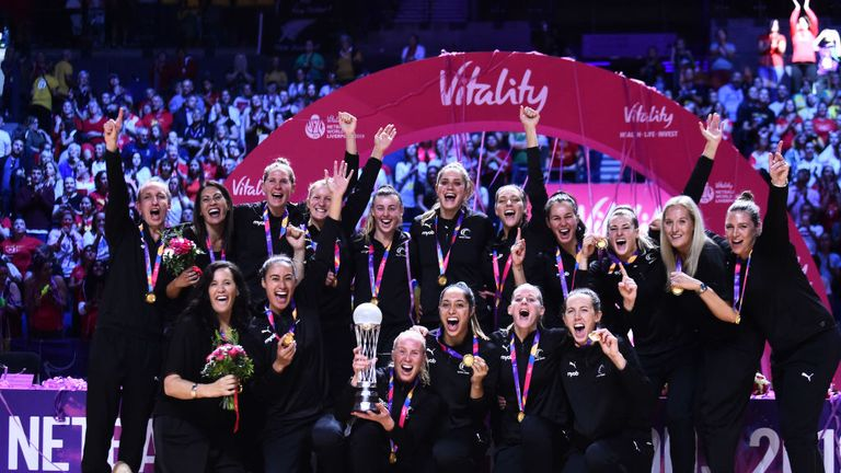 The Silver Ferns won their first Netball World Cup title since 2003