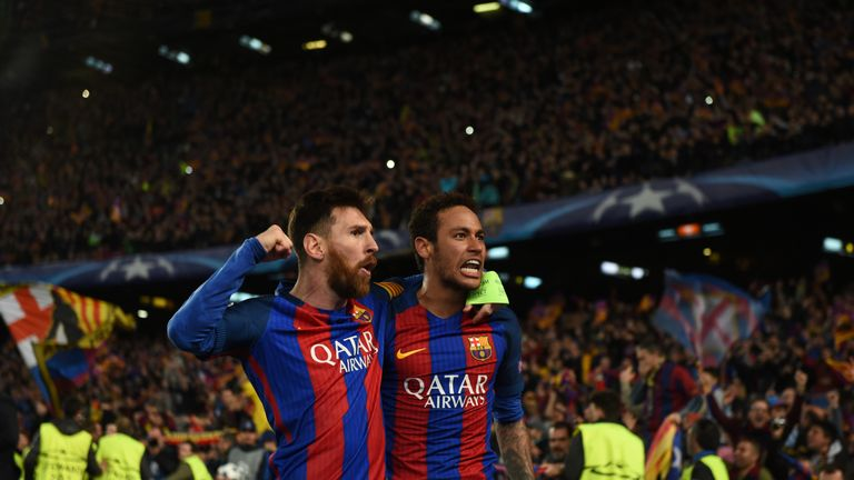 Lionel Messi is pushing Barcelona to bring Neymar back