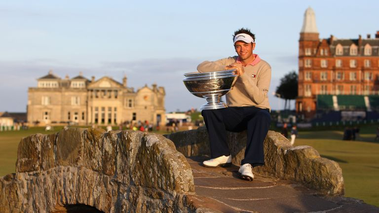 Dougherty won the Alfred Dunhill Links Championship in 2007