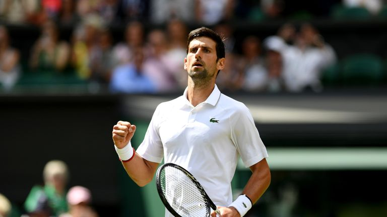 Novak Djokovic continues Wimbledon defence as Kyle Edmund Heather Watson return