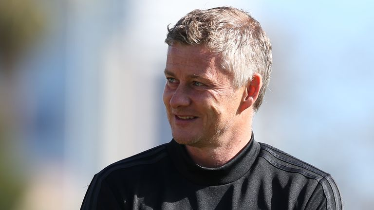 Ole Gunnar Solskjaer was talking at a fan event in Perth with Bryan Robson