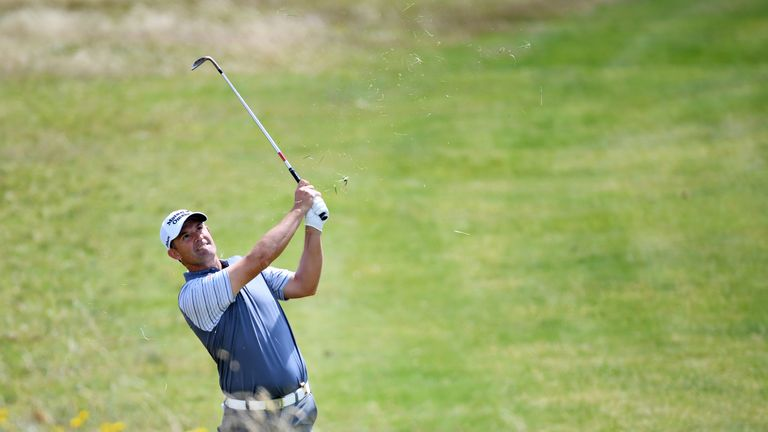 Harrington started the week as world No 291