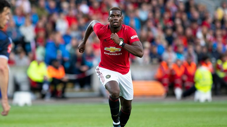 Sky Sports News understands Pogba complained of a back spasm ahead of the trip to Cardiff