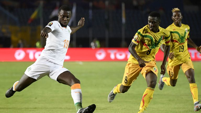 Pepe helped Ivory Coast reach the AFCON quarter finals this summer