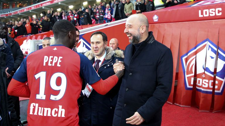 Gerard Lopez brought in Nicolas Pepe from Ligue 1 rivals Angers for 10m euros