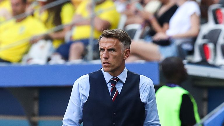 Phil Neville's England reached the World Cup semi-finals in France