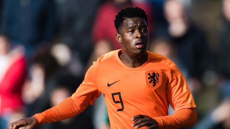 Redan has made 11 appearances and scored nine goals for Netherlands U19s
