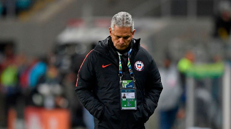 Chile boss Reinaldo Rueda admitted his side had been complacent