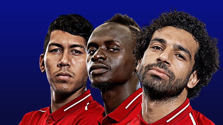 Roberto Firmino, Sadio Mane and Mohamed Salah will face Arsenal on Saturday