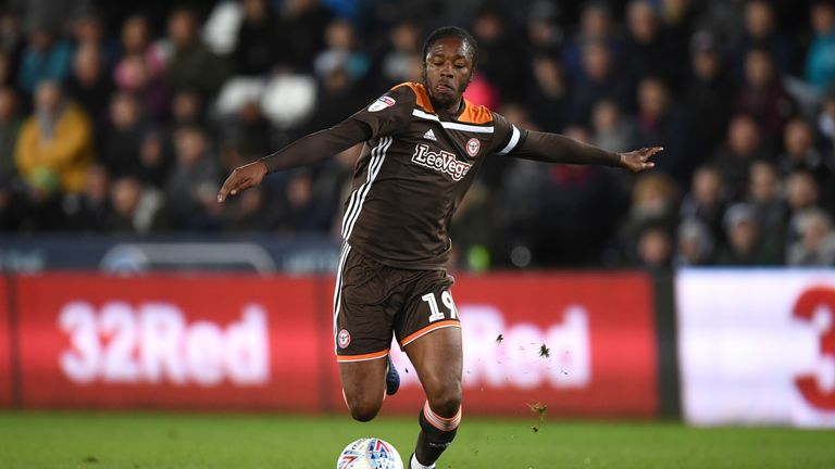 Brentford's Romaine Sawyers is poised to move to West Brom