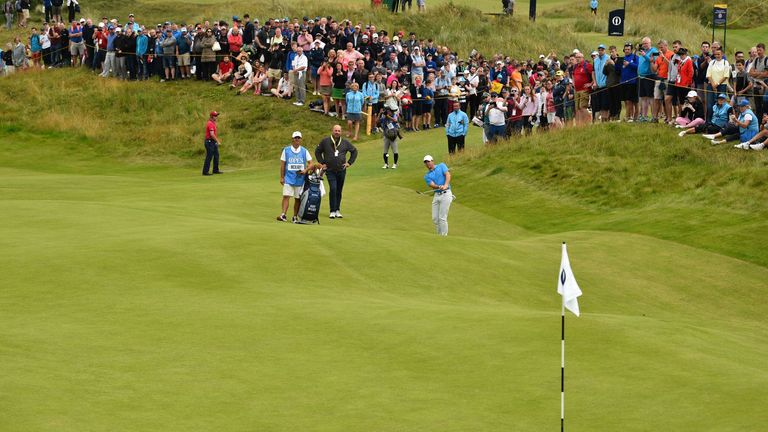 There will be 237,750 fans at Royal Portrush