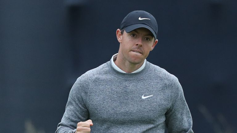 Rory McIlroy missed the cut at The Open in Northern Ireland