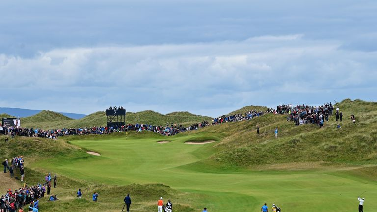 The Dunluce Links was a classic test of links golf in all weathers