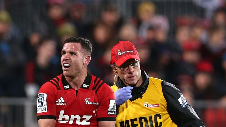 Ryan Crotty will miss the entire Rugby Championship