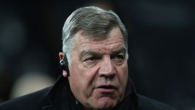 Sam Allardyce spent seven months as Newcastle boss between 2007 and 2008
