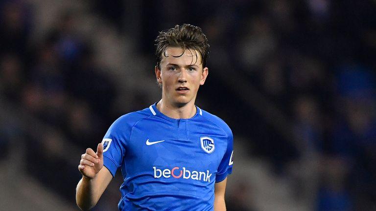 Sander Berge joined Genk in 2017