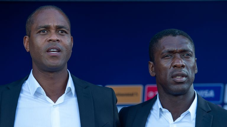 Clarence Seedorf and Patrick Kluivert sacked by Cameroon following Africa Cup of Nations exit