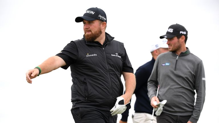 Lowry plays alongside Russell Knox and Tommy Fleetwood over the first two rounds