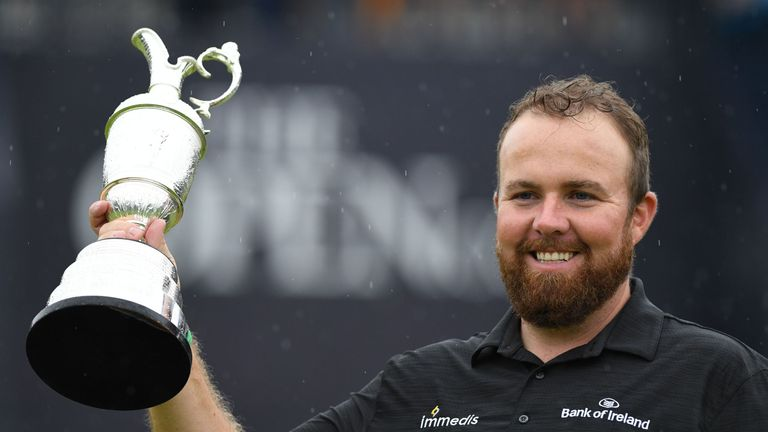Open champion Shane Lowry parades Claret Jug at All-Ireland semi-final