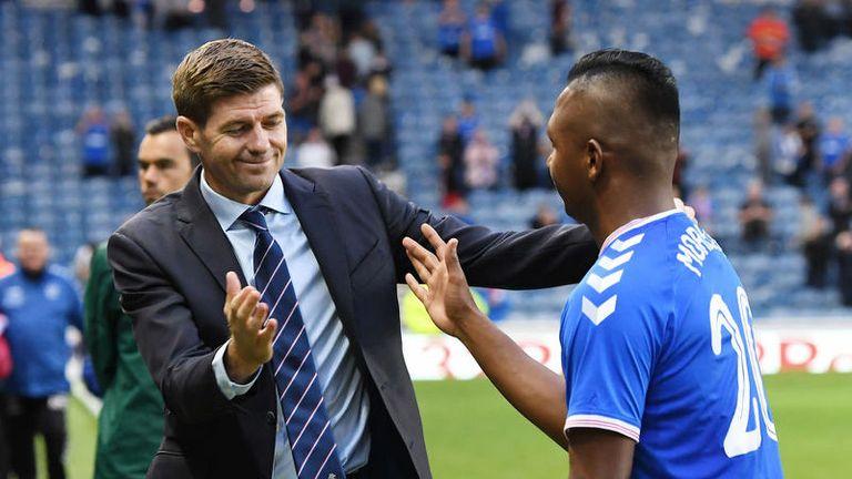 Steven Gerrard denied last week any bids had been lodged for his star striker