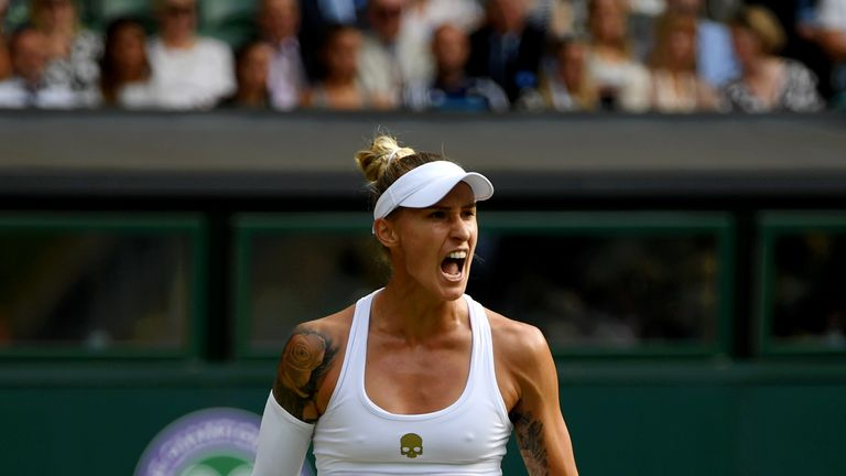 Polona Hercog squandered two match points