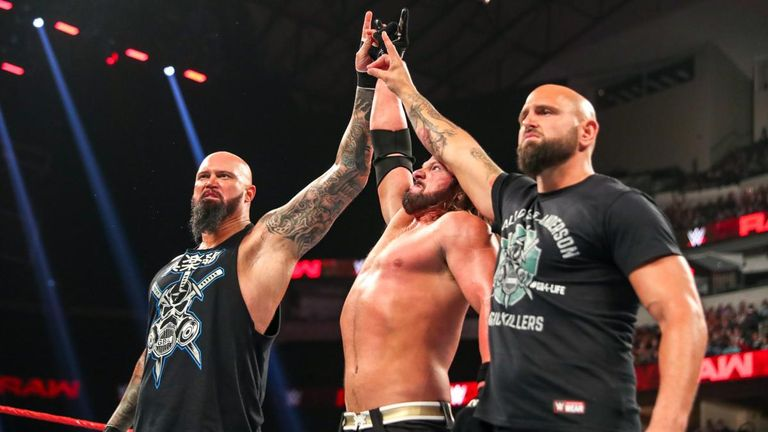 Styles has recently reformed 'the Club' with Luke Gallows and Karl Anderson