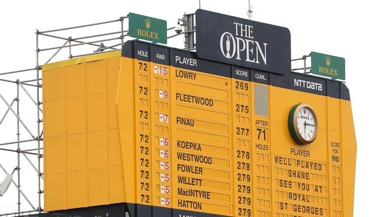 The Open: Some of the key numbers and statistics from Royal Portrush