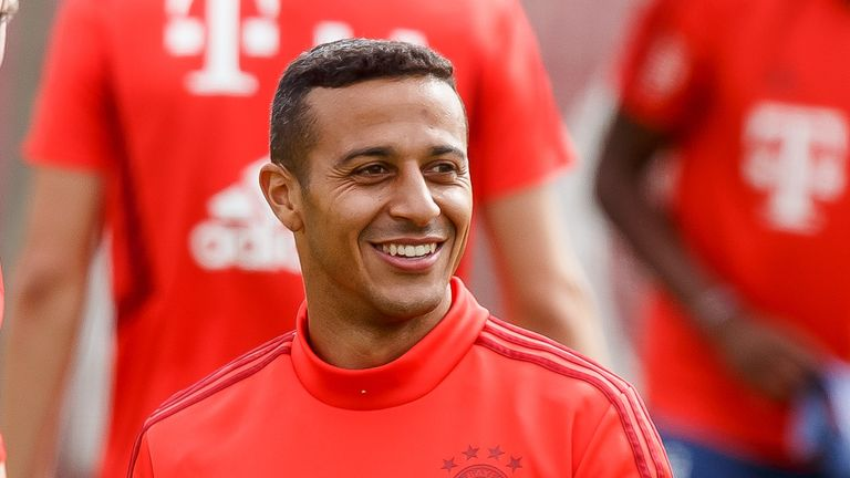 Thiago Alcantara says Bale would be welcome at Bayern
