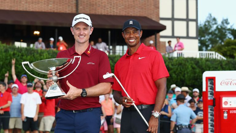 Woods finished second to Justin Rose in the FedExCup in 2018