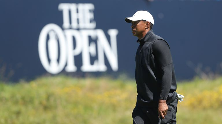 British Open: Tiger Woods says Masters 'took a lot out' of him