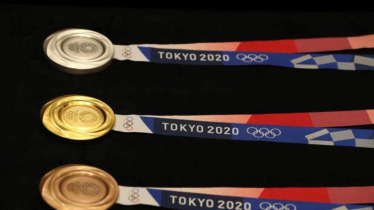 Olympic organisers have released the medal designs for Tokyo 2020