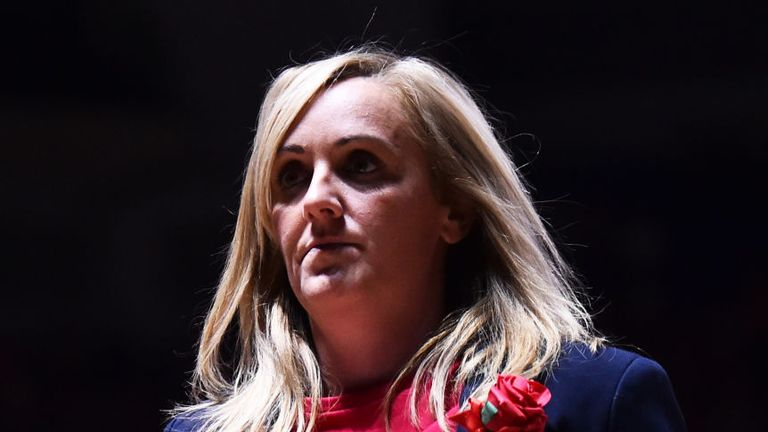 Tracey Neville spent four years in charge of the England netball  team