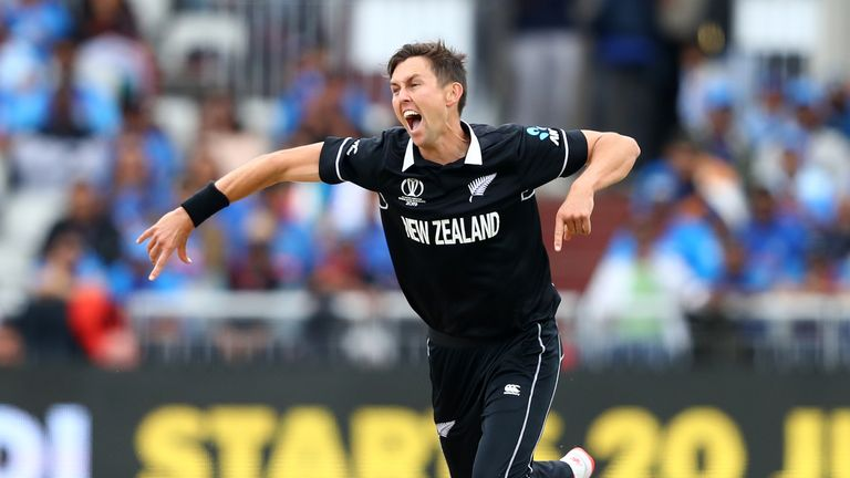 Trent Boult dismissed Kohli as New Zealand started superbly with the ball