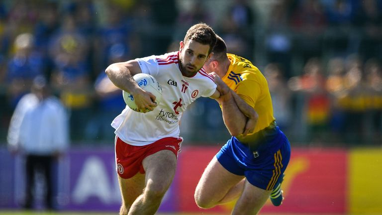 Niall Sludden had a major influence in the first half