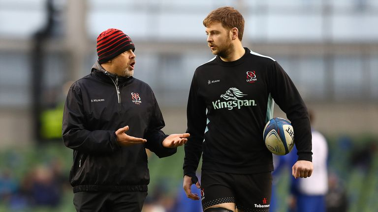 Ulster coach Dan McFarland (left) has had a huge impact at the club since being instilled