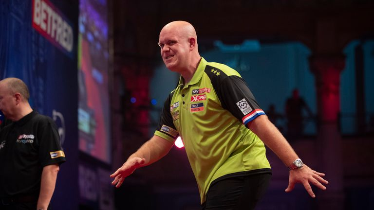 Michael van Gerwen has failed to lift this title in his previous three attempts