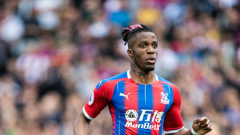 Wilfried Zaha failed to secure a move away from Crystal Palace over the summer