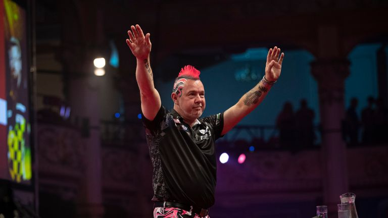 Wright has been throwing some of the best darts of his career over recent weeks