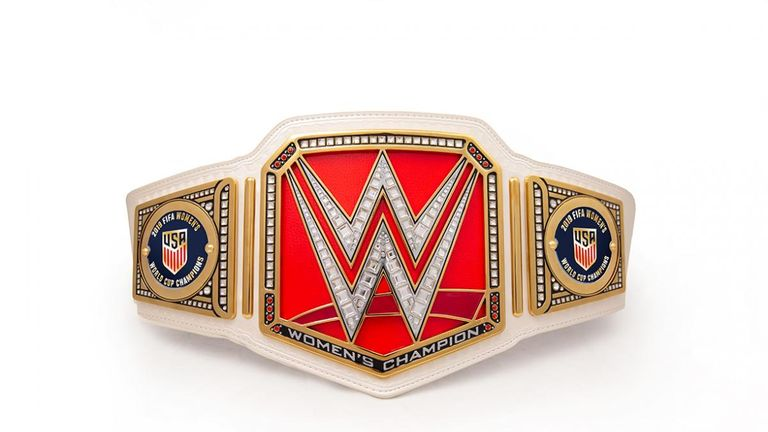WWE will send a commemorative title belt to the history-making USA Women's team