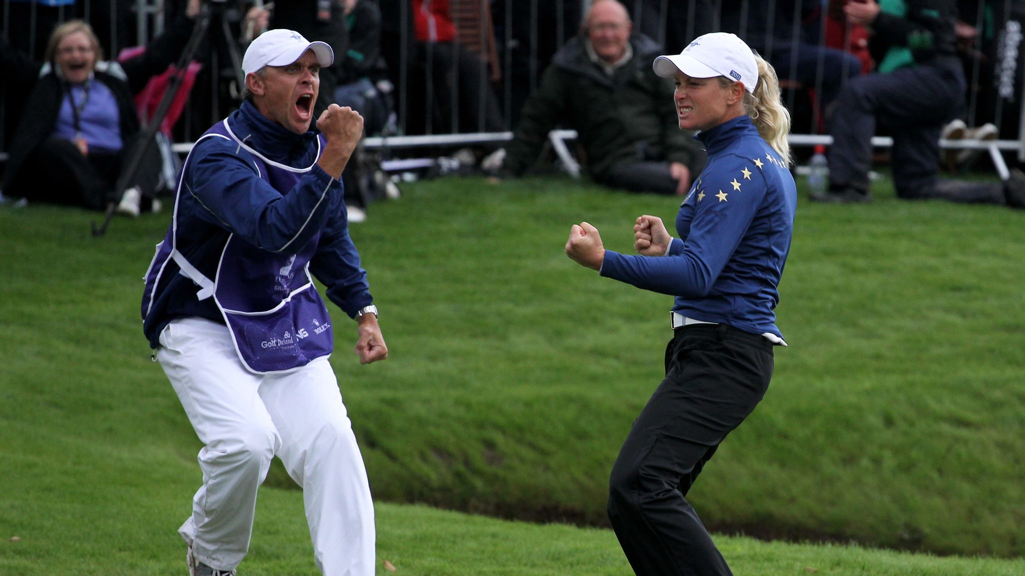 Solheim Cup stories: Suzann Pettersen helps Europe to 2011 victory