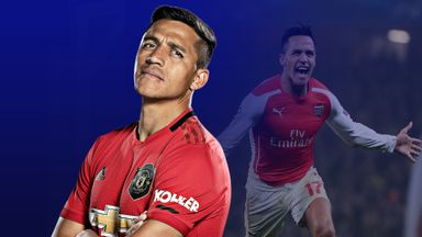 Alexis Sanchez could not recreate his Arsenal form at Manchester United