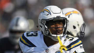 Derwin James fractured his fifth metatarsal during practice on Thursday