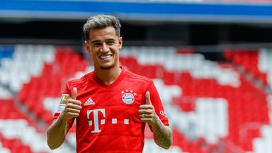 Coutinho becomes Bayern's seventh signing of the summer