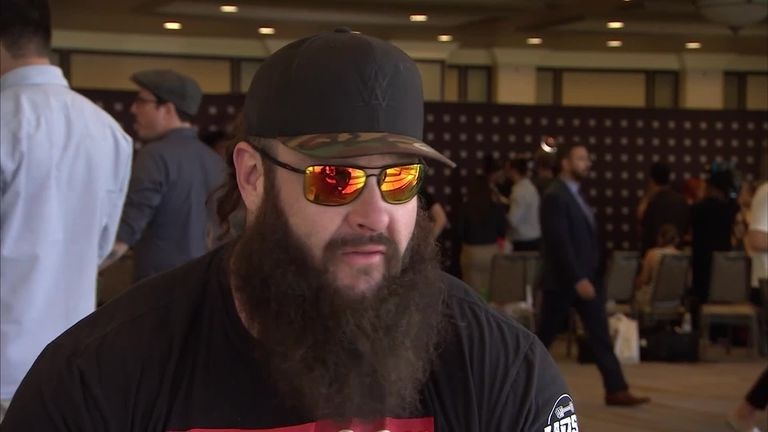 Braun Strowman was full of praise for Bray Wyatt, who helped him when he first joined WWE
