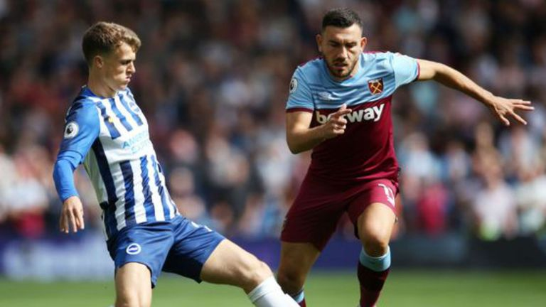 Highlights from Brighton's draw against West Ham in the Premier League