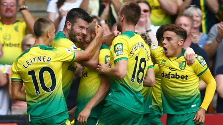 Highlights from Norwich's 3-1 win against Newcastle in the Premier League