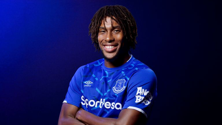 Alex Iwobi joined Everton in a £35m deal on Deadline Day