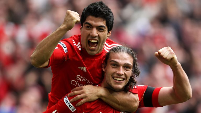 Andy Carroll signed for Liverpool in January 2011