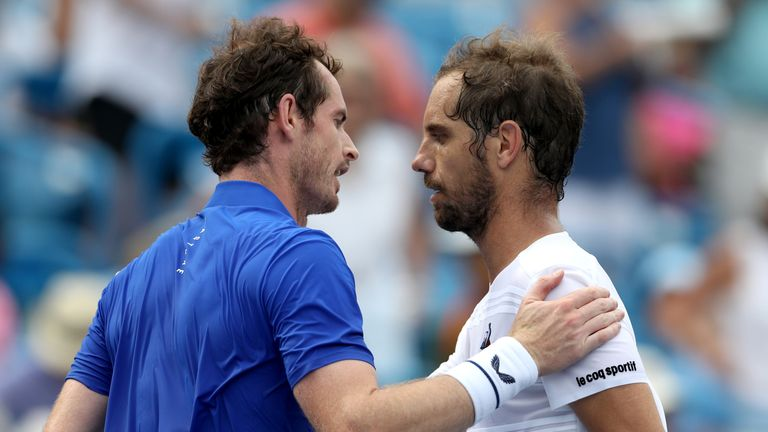 It was Murray's fourth defeat to Gasquet in 12 matches