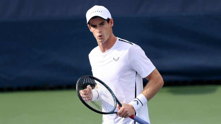 Andy Murray will play Richard Gasquet at the Cincinnati Masters on Monday